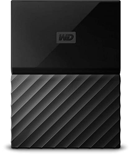 WD My Passport 2 TB Wired External Hard Disk Drive  (Black)