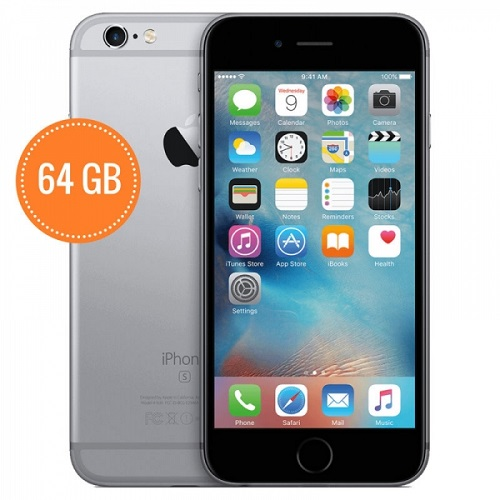 Apple iPhone 6 - Grey/Gold 64GB - Refurbished with 12 months Warranty