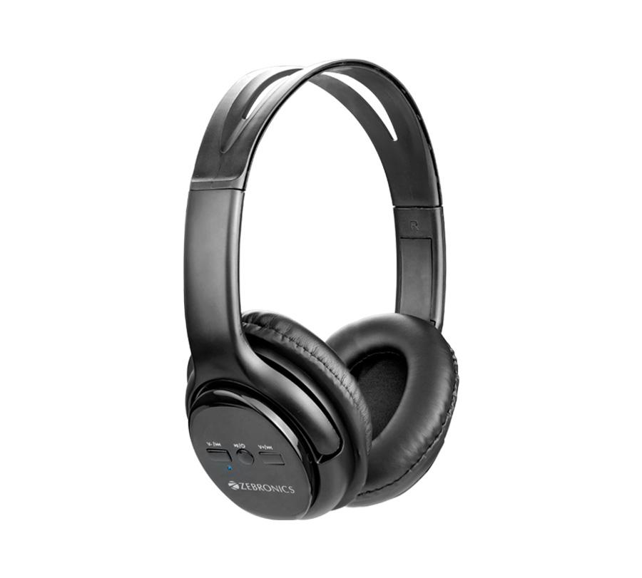 Zebronics Wireless Bluetooth BT Headphones - Aura