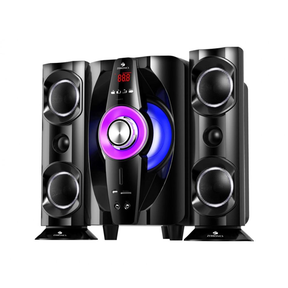 Zebronics Tornado-2 BT RUCF - 2.1 Multimedia Speaker