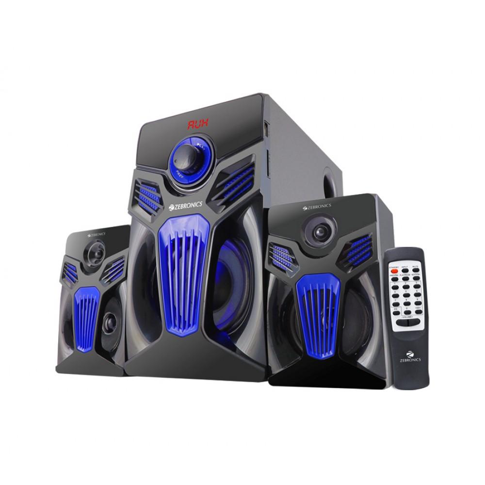 Zebronics Fantasy-BT RUCF - 2.1 Multimedia Speaker