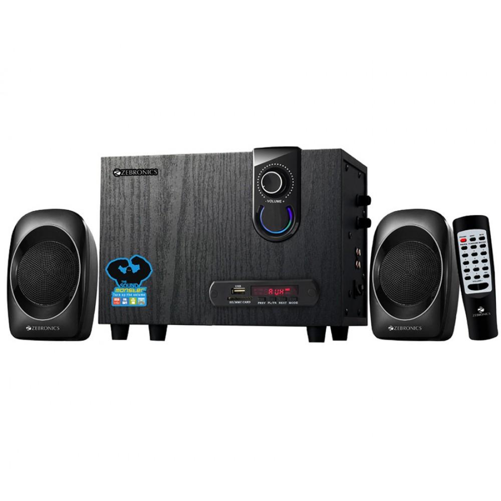 Zebronics ZEB-SW2492RUCF - 2.1 Multimedia Speaker