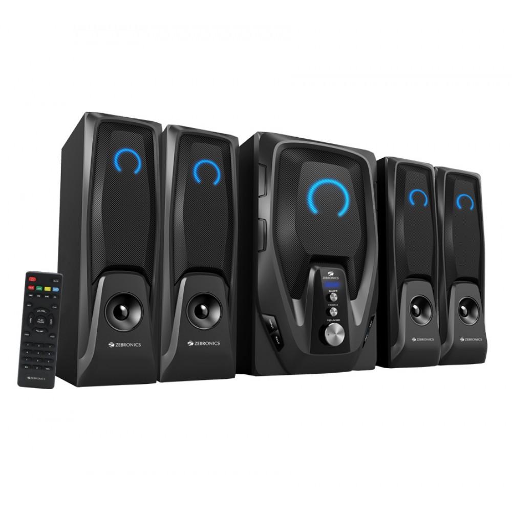 Zebronics Mambo-BT RUCF - 4.1 Multimedia Speaker