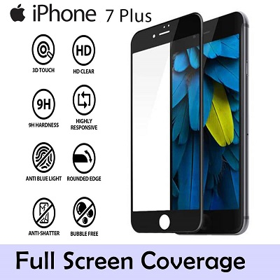 Apple iPhone 7 Plus Tempered Glass Screen Guard By Avalik
