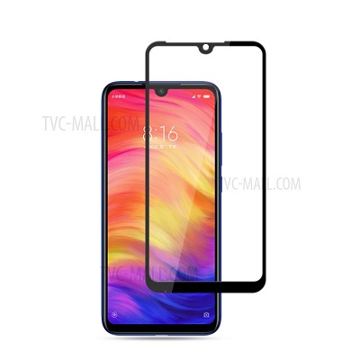Redmi  Note 7 Black  Tempered Glass Screen Guard By Avalik