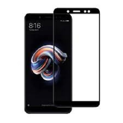 Redmi Note 5 Pro Black  Tempered Glass Screen Guard By Avalik