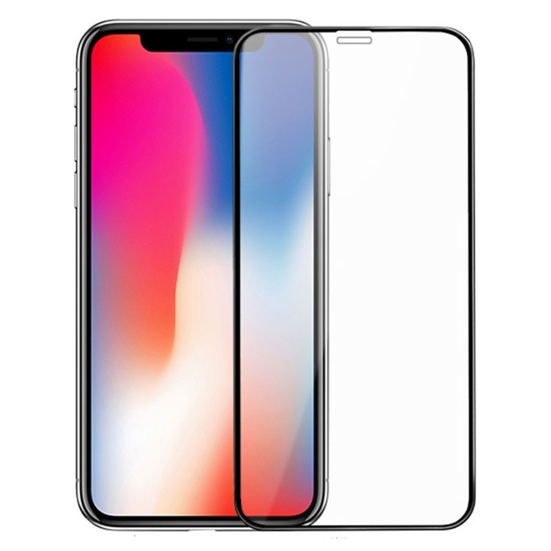 Avalik Screen Guard for iphone X / XR/ 11 Pro Tempered Glass Edge to Edge Anti-Fingerprint