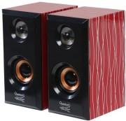 QUANTUM QHM636 USB Powered Wooden Speaker (Multicolor)