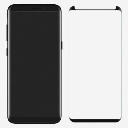 AV Screen Guard for Samsung Galaxy S9 (Pack of 1) Half cut (Black)