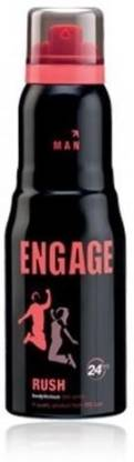 Engage Rush Deodorant Spray - For Men  (150 ml)