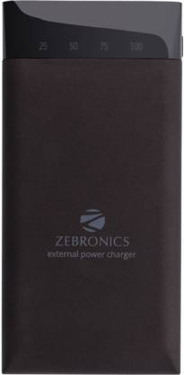 Zebronics ZEB-MC15000PD mAh Power Bank  (Black)