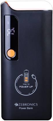 Zebronics ZEB MC-10000LD mAh Power Bank (Black, Lithium-ion)