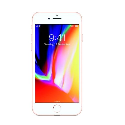 Apple iPhone 8 (Silver/Gold, 64 GB), Refurbished mobile with 1 month warranty
