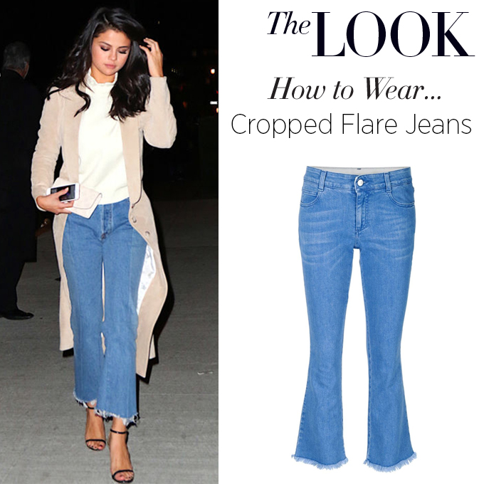 how to wear…the cropped flare jean