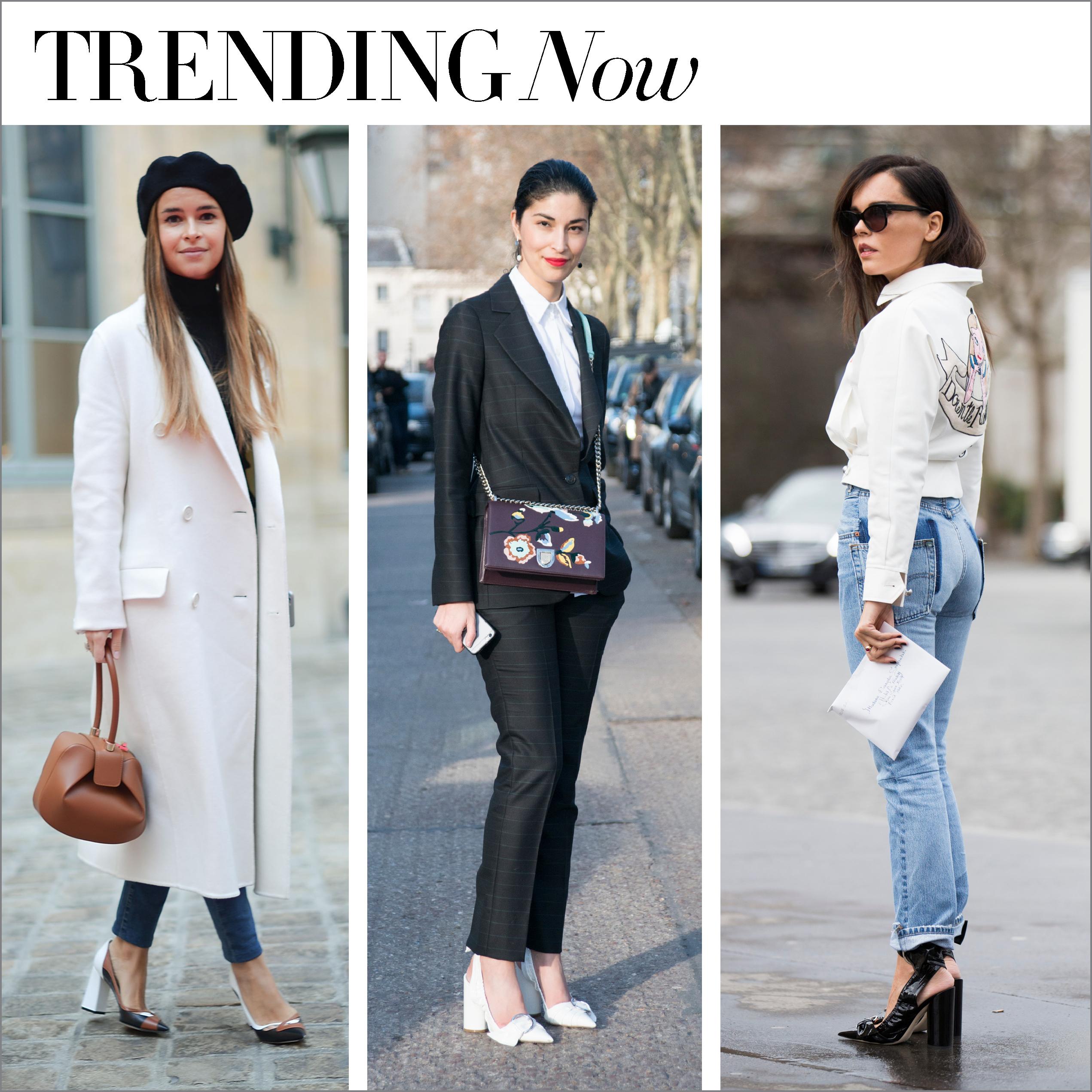 trending now...heels on the block