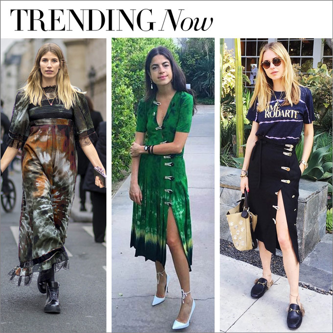 trending now...to tie dye for