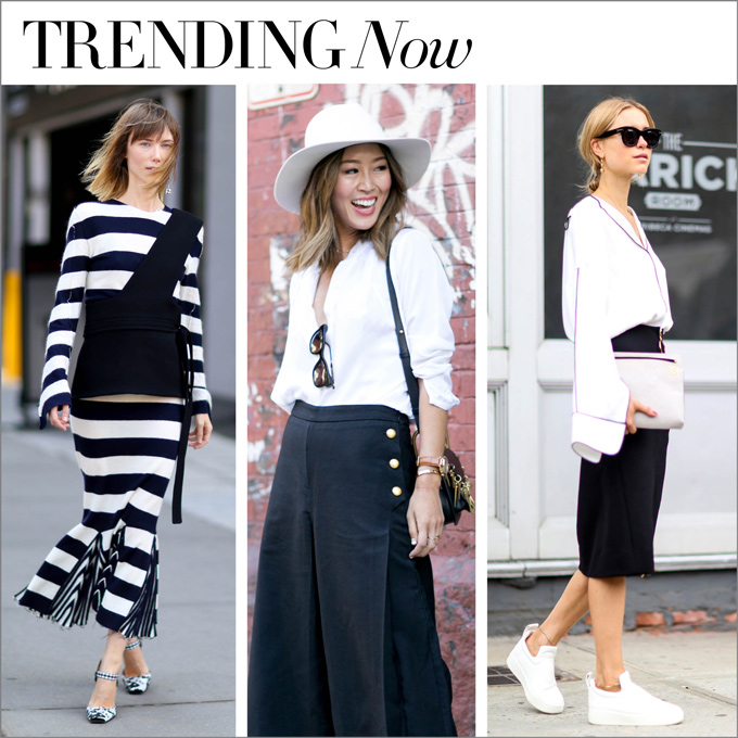 trending now...in black and white
