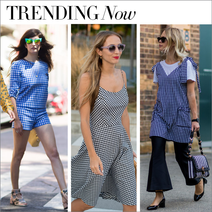 trending now in our store...got gingham