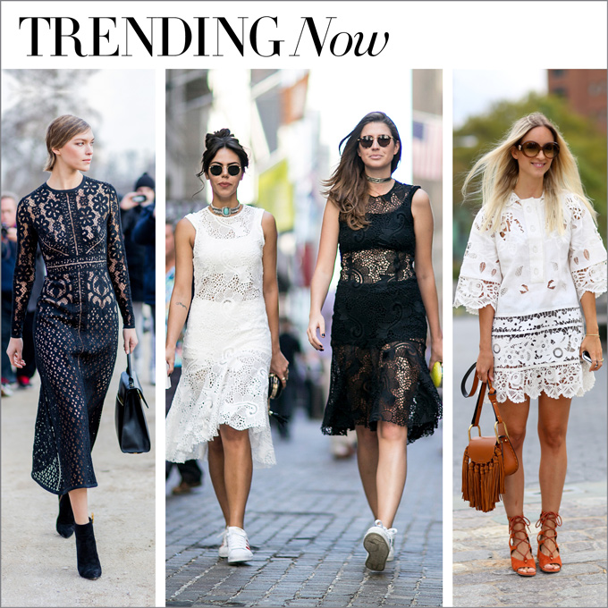 trending now...win the lace