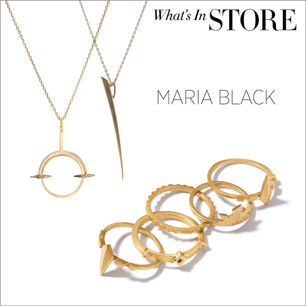 what's in store... maria black jewellery