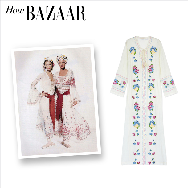 how bazaar... flower child chic