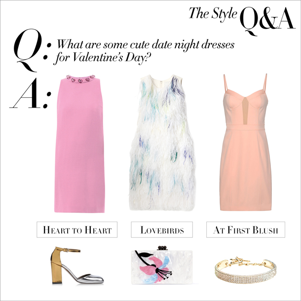 the style q&a... valentine's day dresses