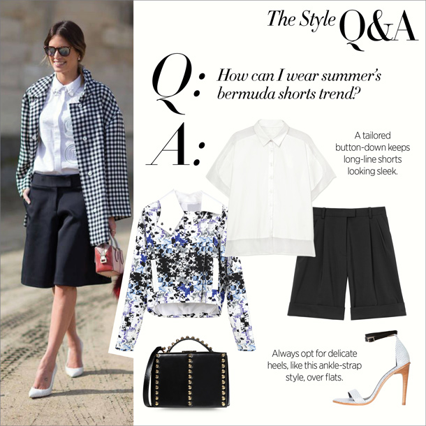 the style q&a... summer in bermuda