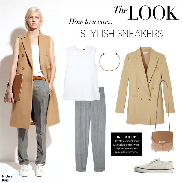 how to wear... stylish sneakers