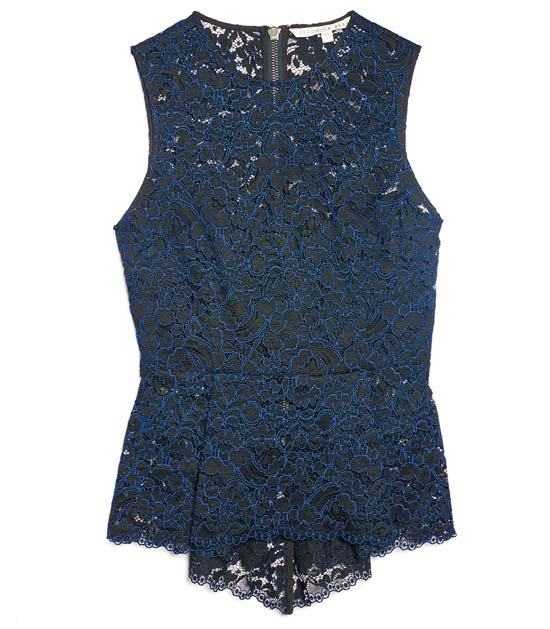 Veronica Beardnew blue top