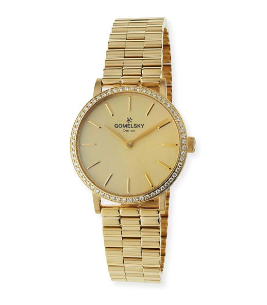 Gomelsky gold watch