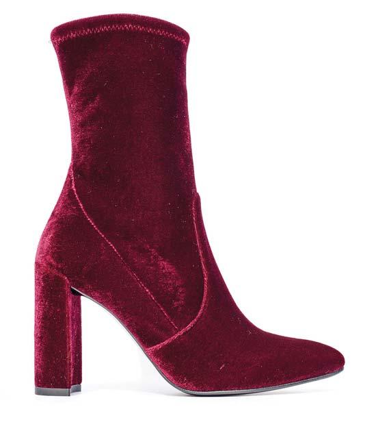 Stuart Weitzman red boot