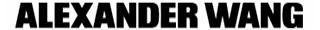alexander wang designer fashion brand