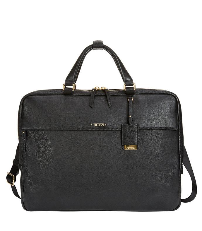 black 'westport' slim briefcase