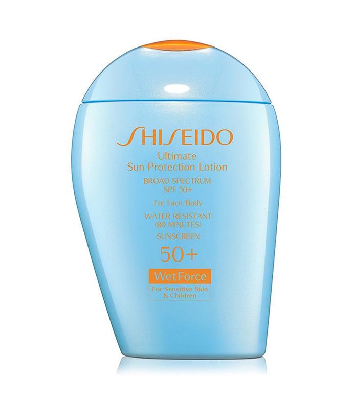 ultimate sun protection lotion wetforce sensitive