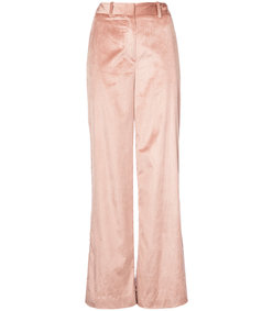pink relaxed wide leg trouser