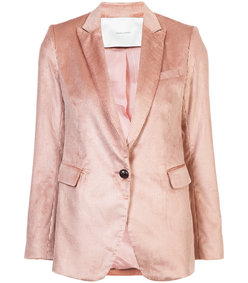pink single breasted boyfriend blazer