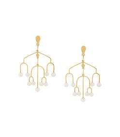 gold sirocco earrings