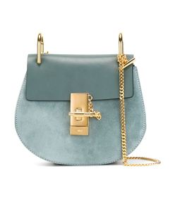 cloudy blue 'drew' shoulder bag