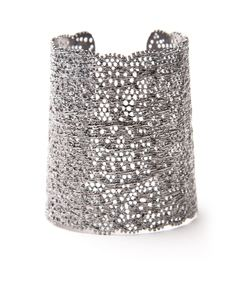 gunmetal lace cuff
