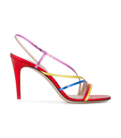 multicolor baby rainbow straps sandal