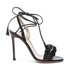 black 'nappa' sandal