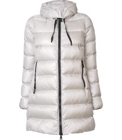 white 'suyen' padded coat