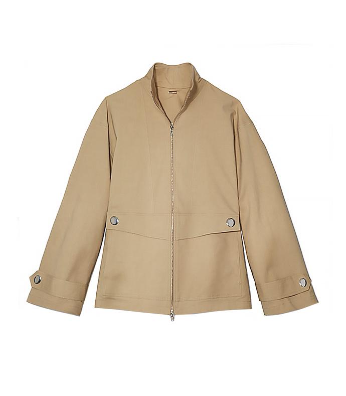 khaki 'anorak' jacket