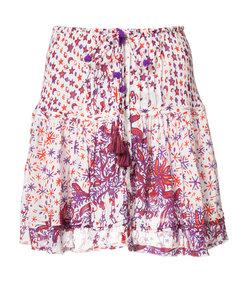 pink & purple 'kila' mini skirt