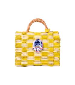 yellow small tom tom bag