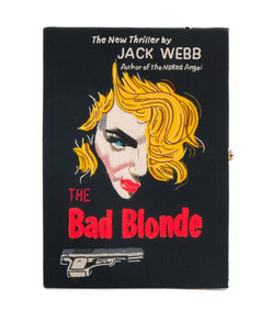 black the bad blonde bag