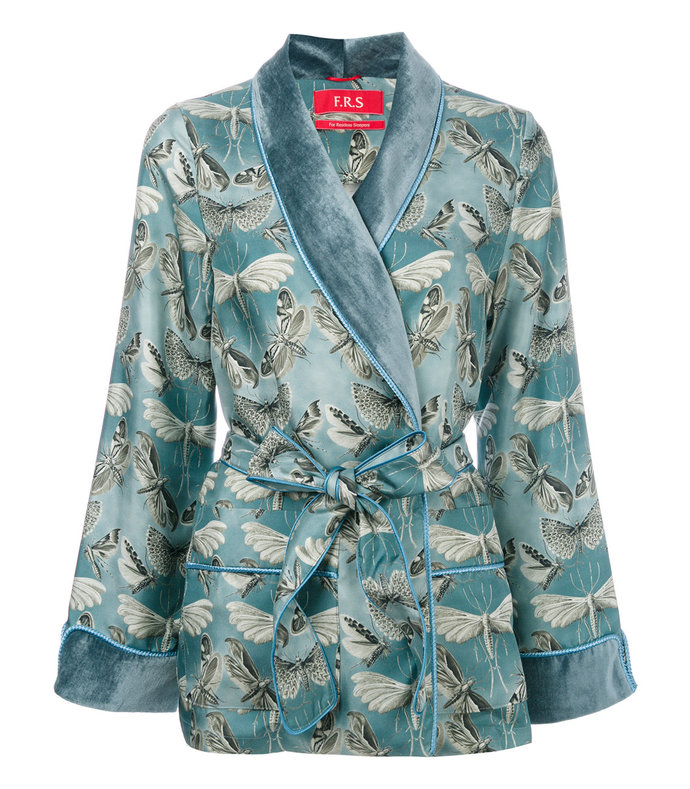 blue armonia pyjama jacket