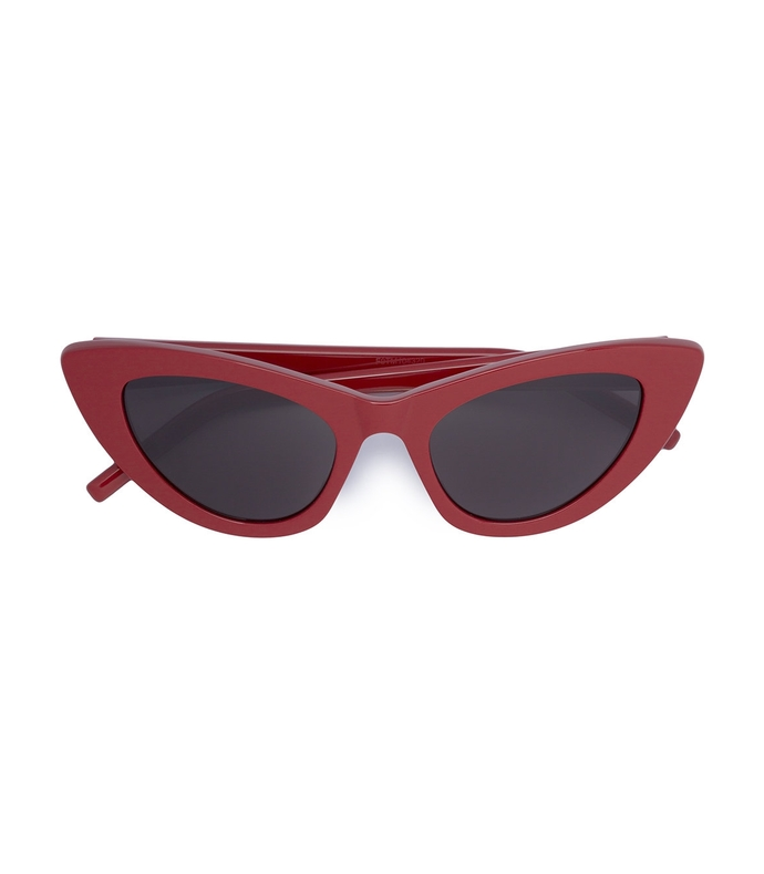 lily narrow cat eye sunglasses