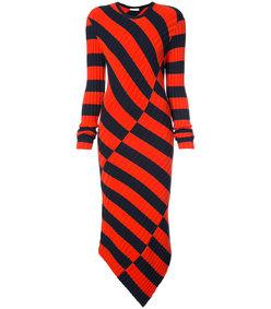 orange/black whistler dress