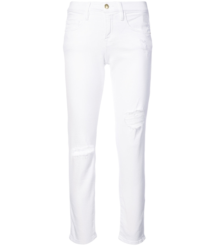 White Le Boy Blanc Jeans FRM37RJ7-WHT-29